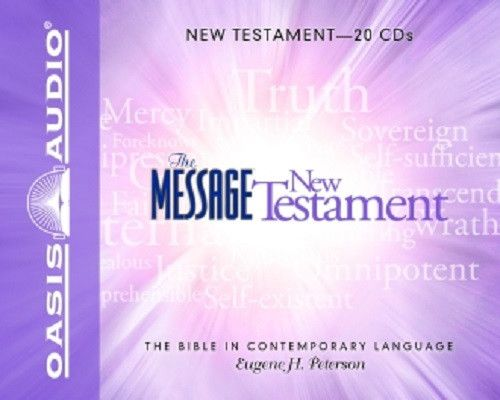 The Message Bible By Eugene H. Peterson CD
