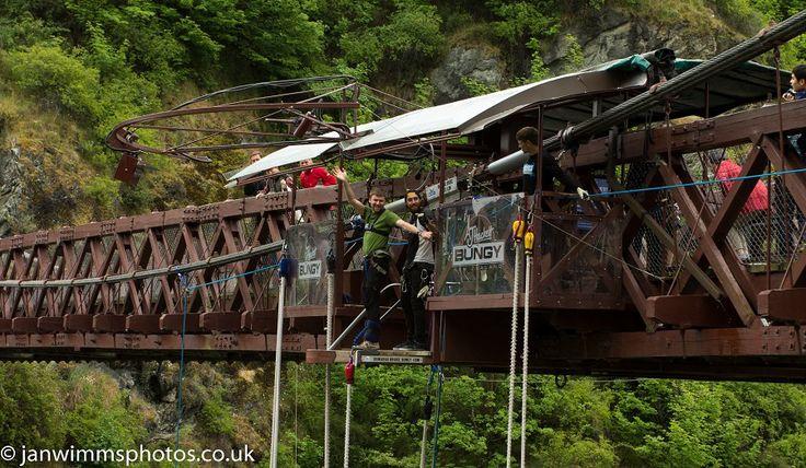 Queenstown bungy jump bridge NEW ZEALAND SOUTH ISLAND