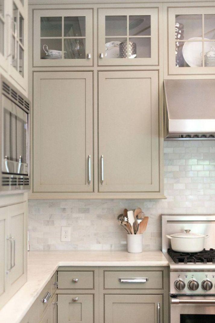 Revere Pewter Kitchen Cabinets | Trendy kitchen backsplash ...