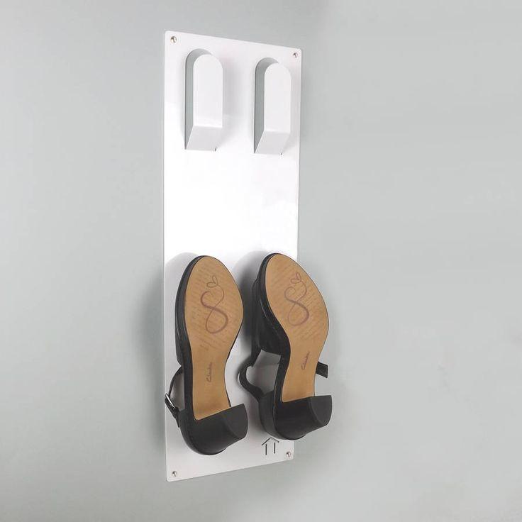 Best 25+ Wall mounted shoe rack ideas on Pinterest