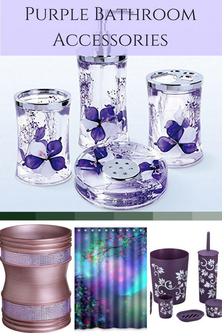 Cheap purple bathroom accessories - Purple Bathroom Accessories Purple Bathroom Decor Is Fun Unique And Pretty I Love All