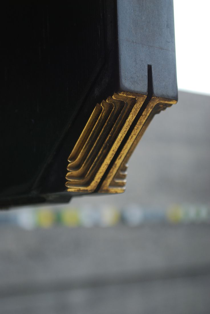 Detail - Brion cemetery by Carlo Scarpa