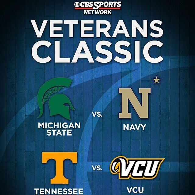 """Michigan State will open the 2014-15 season at the Naval Academy on Friday, Nov. 14. The Spartans are participating in the inaugural """"Veterans Classic at the Naval Academy,"""" which will feature a doubleheader in an annual showcase in celebration of Veterans Day. MSU and Navy will play in the second game of the doubleheader which tips at 9pm. #statebasketball #msu #spartans #Padgram"""