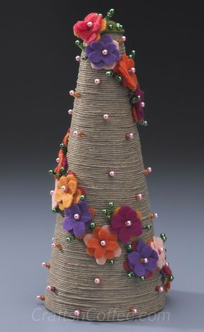 Divine twine: Wind up a blooming, Twine Topiary .... http://craftsncoffee.com/2013/03/01/divine-twine-wind-up-a-blooming-twine-topiary/#