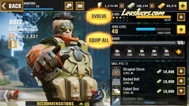 Hero Hunters Cheats → Hack Glitch constantly updated! | Le Astuces