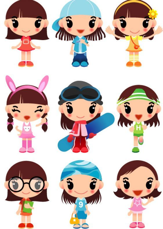Cartoon Characters Ideas : Best ideas about cute cartoon characters on pinterest