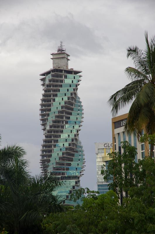 Revolution Tower in Panama City