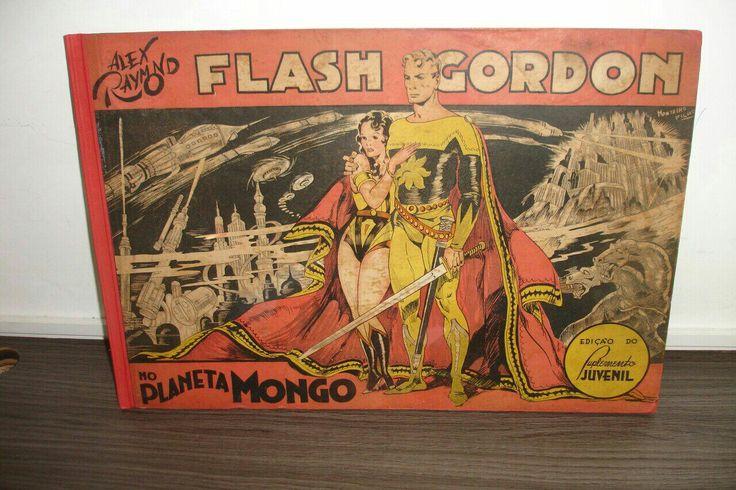 pedro Oliveira - Flash Gordon de 1936 publicado pelo Grande Consórcio Nacional Suplementos.