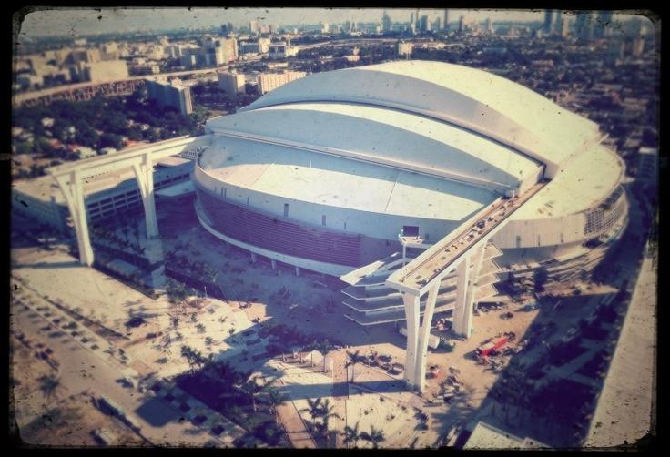 Marlins Ballpark in Miami