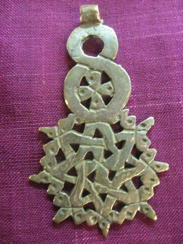 Vintage Ethiopian Coptic Cross. $45.00, via Etsy.