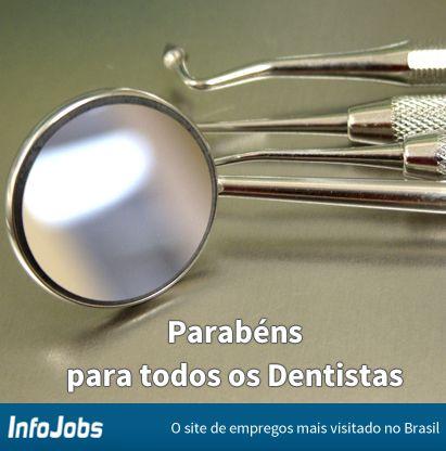 #diadoprofissional #infojobs #dentista #vaga #emprego #oportunidade #trabalho