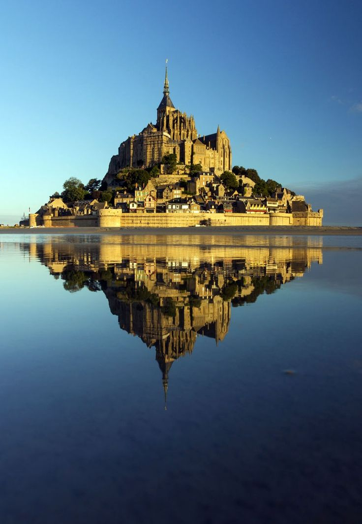 Mont Saint-Michel, Normandy, France | 14 of the Most Amazing Fairy Tales Castles you should See in a Lifetime