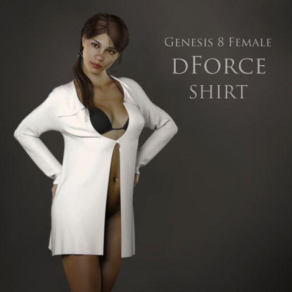 FREE dForce Shirt for Genesis 8 Female http://www.most-digital-creations.com/freestuff.htm