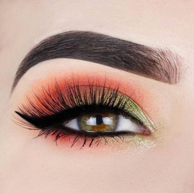 How gorgeous are these fall colors from our Foil Eyes - 28 Color Eyeshadow Palette on #BHBeauty @tinebeauty? She used metallic shades on the lid & inner corners of her eyes   #BHCosmetics #FoilEyes #Eyeshadows #Fall #Makeup #MakeupGoals