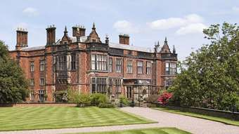 Arley Hall, in Arley, Cheshire, used in the Disney Channel's TV movie, Evermoor (2014)