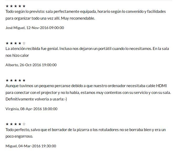Opiniones acerca de la sala de reuniones en Plaza de España http://www.spaces-on.com/es/espacio-horas/388-sala-de-reuniones-14-cerca-de-plaza-de-espana-madrid#reviews