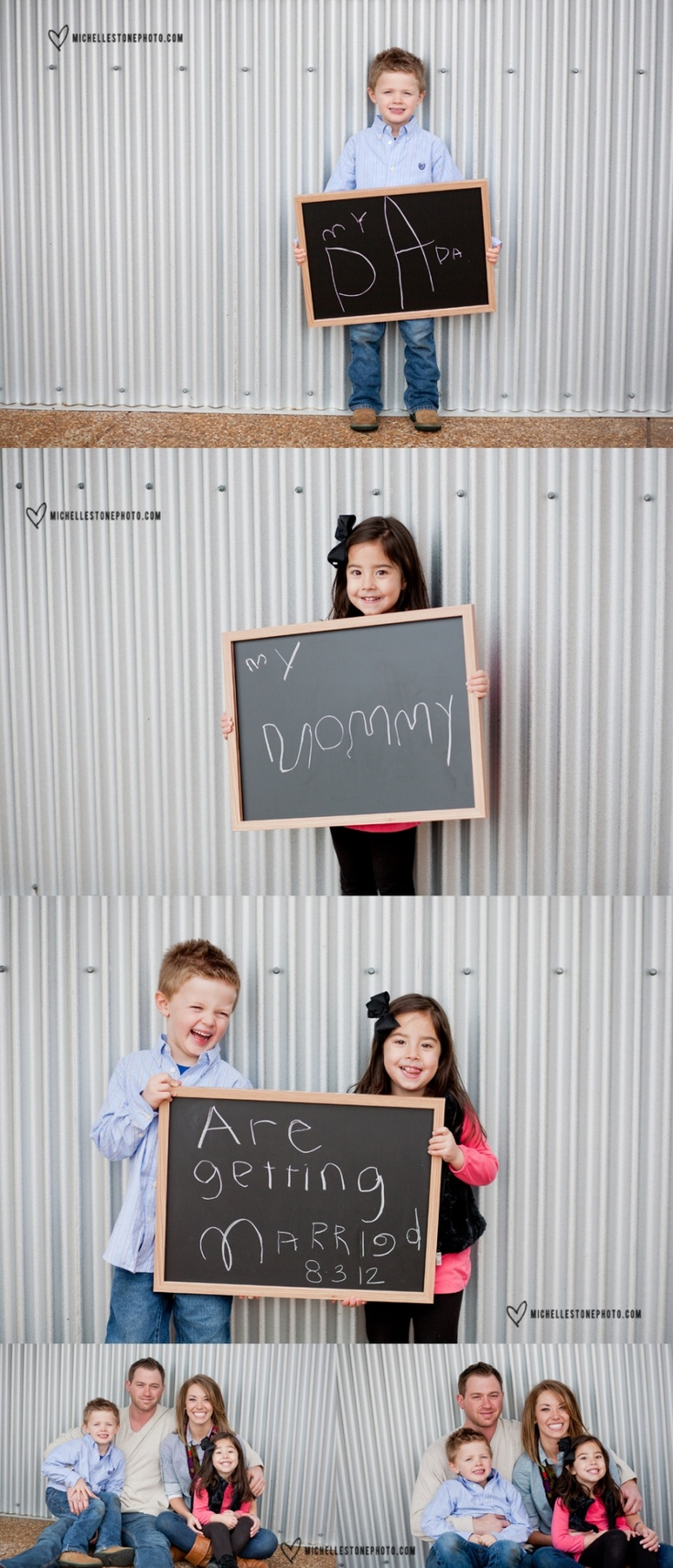 engagement pictures with kids - Google Search