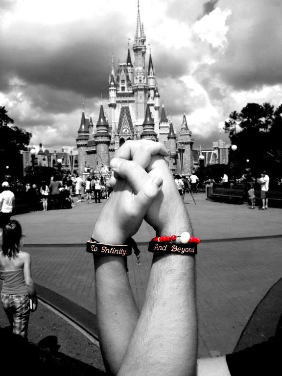 I have these bracelets for my boyfriend and I. I so want to take this picture!