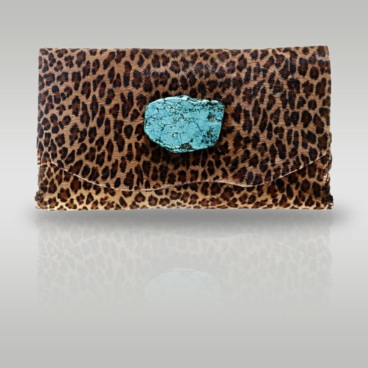 602819fdd72a Marie Wallet Clutch in Small Leopard — Anat Marin Fall 2013 Collection -  Handbags
