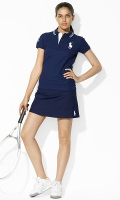 Ball Girl Uniform Skort - Ralph Lauren Tennis Shorts & Skorts - Ralph Lauren UK