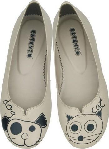 ❤ Sepatu Doll Print ❤   KODE : LK08  ☛ Harga : Rp.110.000  ♫ Sepatu cewek, model casual  - warna cream  - Sepatu ini dihiasi dengan gambar yang manis  - Ukuran sepatu: 36, 37, 38, 39, 40