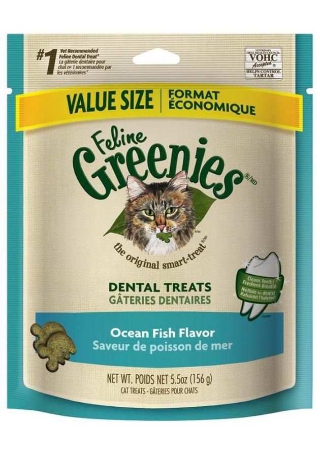 Greenies Feline Dental Treats Dental Treats Greenies Roast Chicken Flavours
