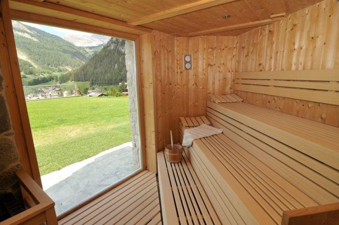 Sauna with panoramic view - Mountain Pic, Fermeda