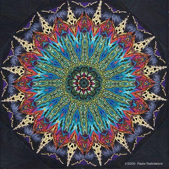 Paula Nadelstern  Kaleidoscope quilts!