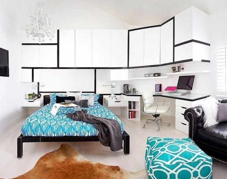 Крошечная, современная квартира в Париже, во Франции. - Дизайн интерьеров | Идеи вашего дома | Lodgers
