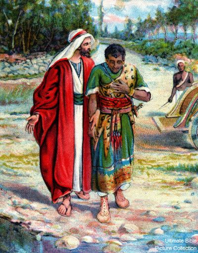 Acts 8 Bible Pictures: Philip and the Ethiopian