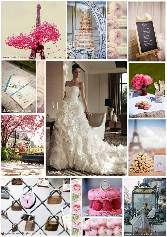 French wedding and Paris party