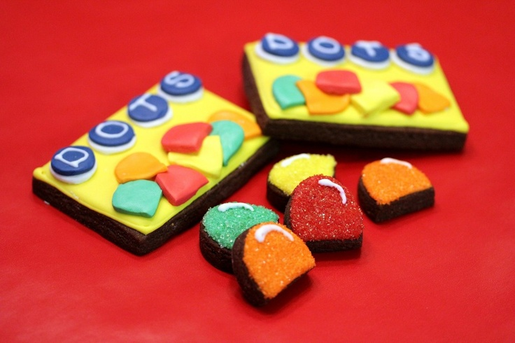 Dots Candy Cookies