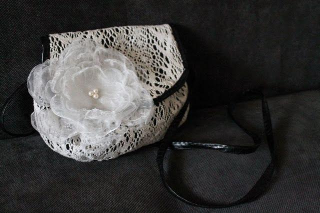 Violett Handmade: Kwiaty z organzy 2