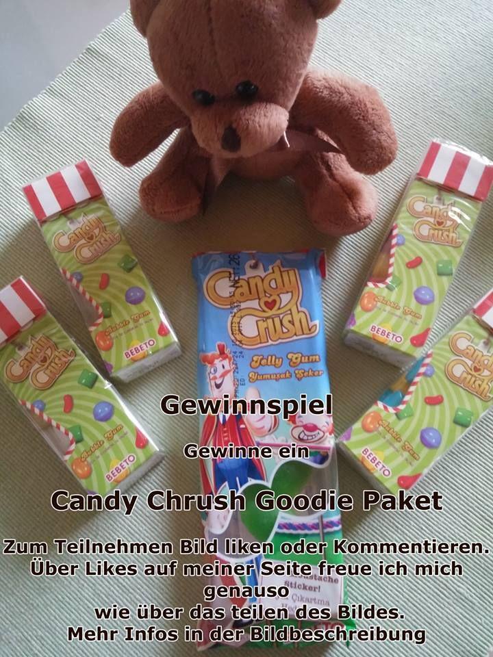 #Gewinnspie #Teddy präsentiert das Candy Chrush Goodie Gewinnspiel. #candycrush