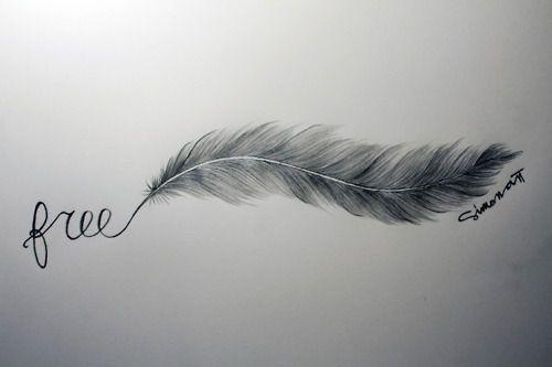 Un mot suivi d'une plume c'est l'idée de mon prochain tatoo pour Sandro