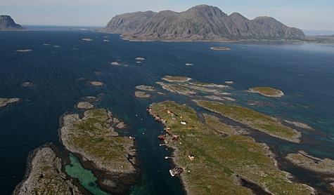 The Vega Archipelago, World Heritage Area, Helgelandskysten, Norway. Photo: Inge Ove Tysnes