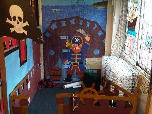 Pirate ship class room role play area