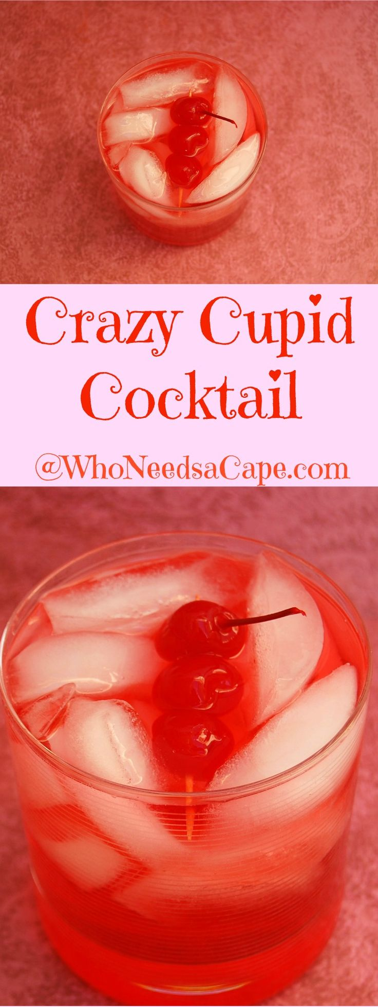 The Crazy Cupid Cocktail is a great drink. Make it with 3 ingredients! Simple Co…