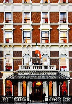 Shelbourne Hotel Dublin (Dublin, Ireland If you get a chance, go in and have tea and scones.
