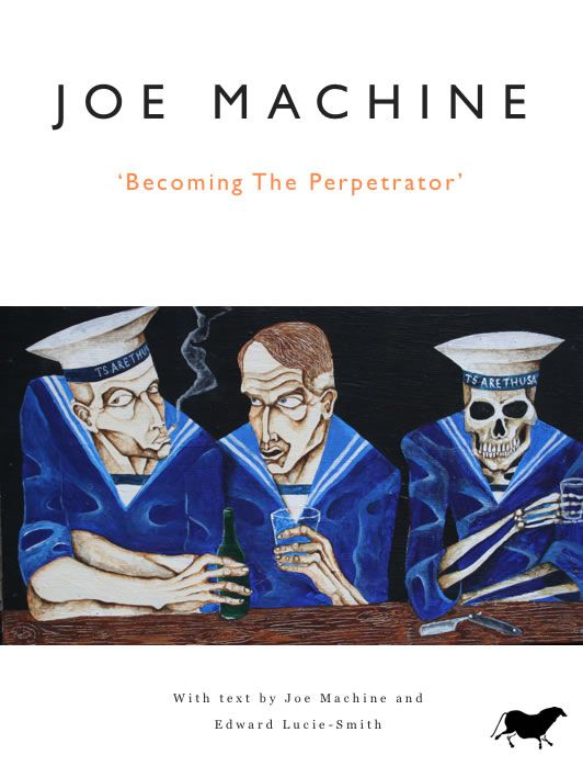 EXCLUSIVE - 'Joe Machine: Becoming the Perpetrator' iBook. Download straight from iBooks straight to your iPad for £3.99 https://itunes.apple.com/gb/book/joe-machine/id546663179?mt=11 #iArtBooks