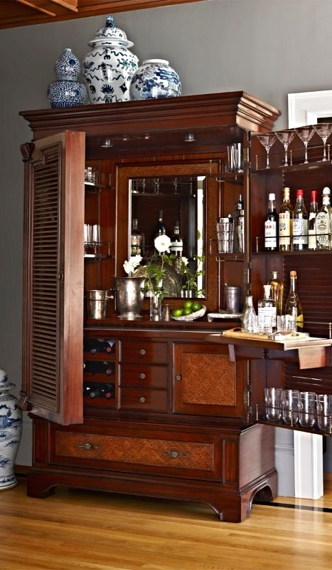 From The Moment You First Lay Eyes On Our Havana Barmoire