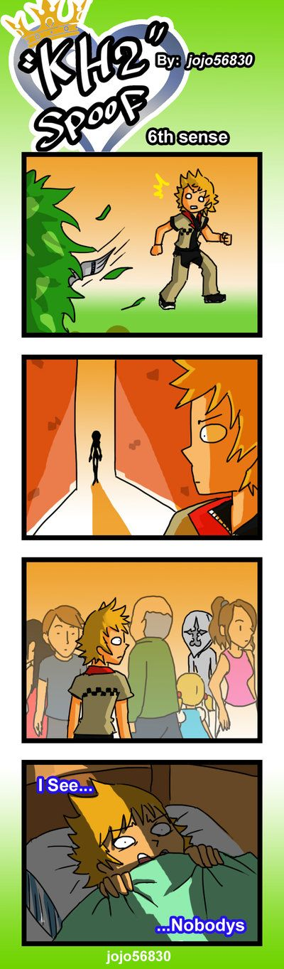 KH2 Spoof: 6th sense by jojo56830.deviantart.com on @deviantART