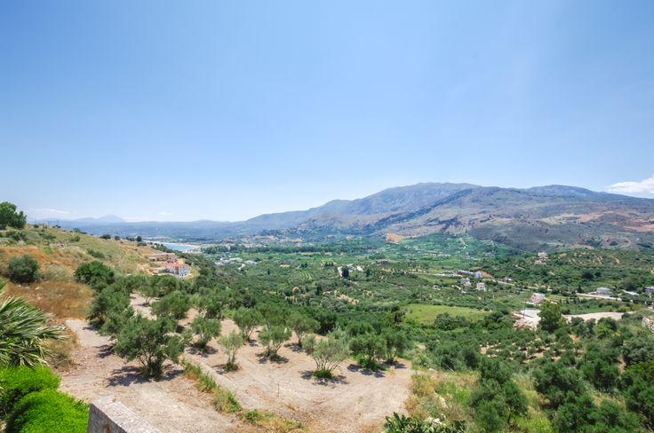 View from Astrostudio Apartments in Exopolis near Georgioupolis Chania Kreta