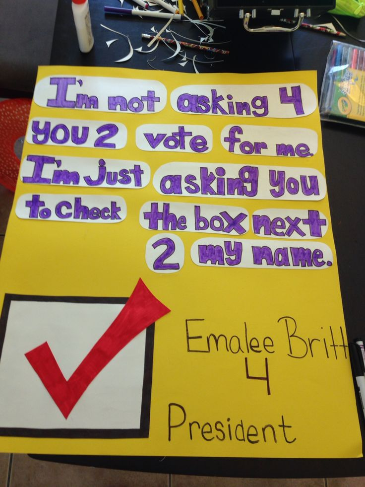 Classroom Representative Ideas ~ Best images about cute campaign posters on pinterest