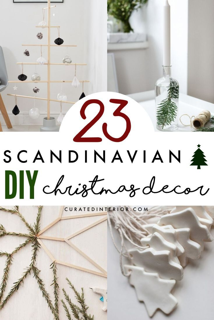 23 Diy Scandinavian Christmas Decorations With Nordic Hygge Vibes Scandinavian Christmas Decorations Christmas Decor Diy Scandinavian Christmas