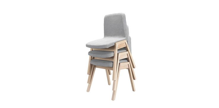 #Pensil family chairs, in solid oak and fabric, avaliable with or without arms. #chairs #uniquedesign #solidwood #armchair #diningroom #wewood