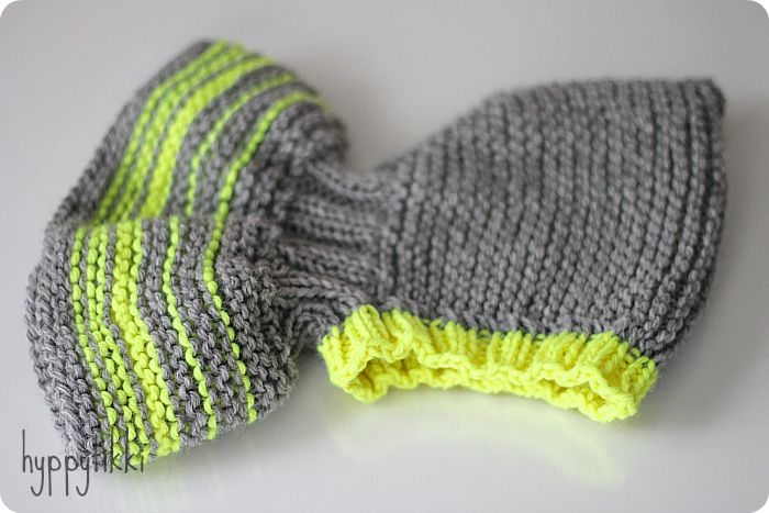Baby´s hooded hat