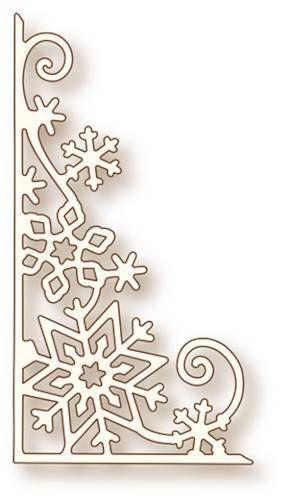 Wild Rose Studio - Cutting Die - Snowflake Corner SD027 - The Rubber Buggy in Crafts, Scrapbooking & Paper Crafts, Scrapbooking Tools | eBay