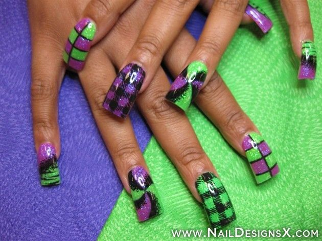 129 best Acrylic Nail Designs & Nail Art images on Pinterest ...