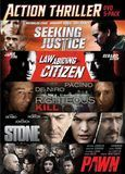 Seeking Justice/Law Abiding Citizen/Righteous Kill/Stone/Pawn [5 Discs] [DVD]
